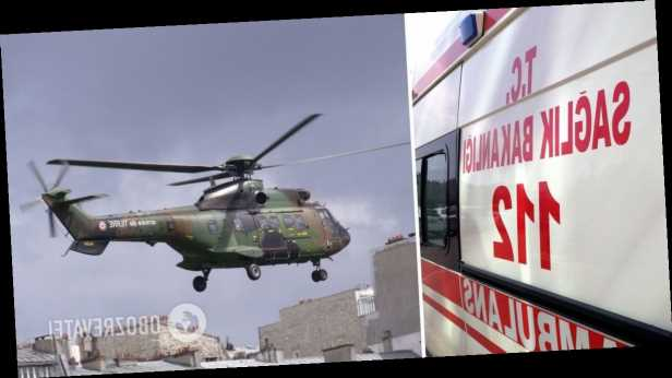 В Турции рухнул вертолет с военными: среди 9 погибших – известный генерал. Фото и видео