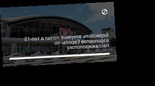 Борисполь впервые попал в топ-15 аэропортов Европы по пассажиропотоку