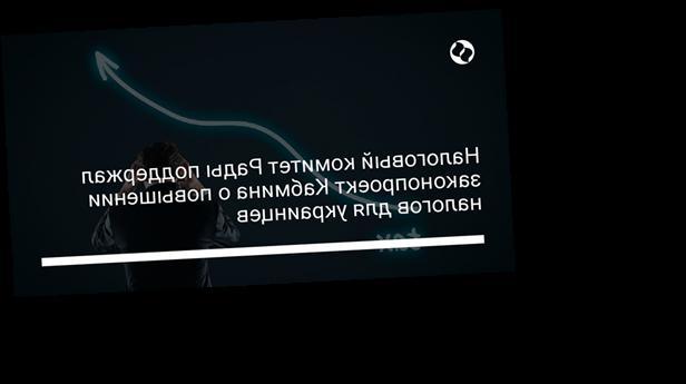 Налоговый комитет Рады поддержал законопроект Кабмина о повышении налогов для украинцев